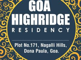 Goa Highridge Residency