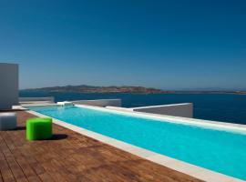 THE EDGE 5* Seafront Villas Ag.Irini, Парос