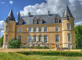 Château De Blavou Normandie, Saint-Denis-sur-Huisne (рядом с городом Réveillon)