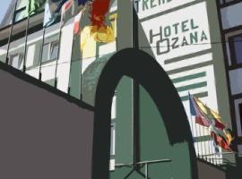 Hotel Ozana, Vînători-Neamţ