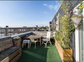 Refreshing ROOF TERRACE Apartment for couples