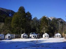 Lodge Nevados de Sollipulli, Rumiñano (Melipeuco yakınında)