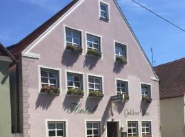Hotel Goldene Rose, Nördlingen (Hohenaltheim yakınında)