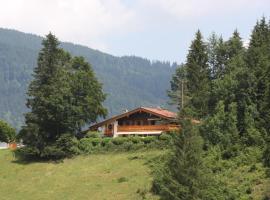 Ferienwohnung am Römerweg Wald, Inzell (Weißbach yakınında)