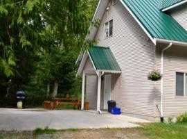 Nana Gump's Guesthouse, Whaletown (Cortes Bay yakınında)