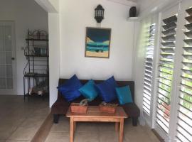 smithy's eco-apartment, Morne Jaloux Ridge (рядом с городом Corbeau Town)