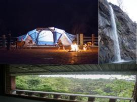 Dabhosa Waterfall Resort, a Nature Trails Resort, Birjpara (рядом с городом Dolāra)