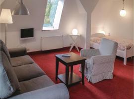 One-Bedroom Apartment in Alt Necheln, Necheln (Brüel yakınında)