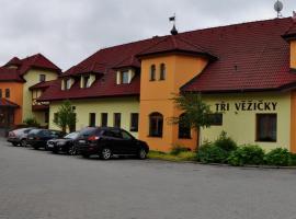 Hotel Tři Věžičky, Střítež (Štoky yakınında)