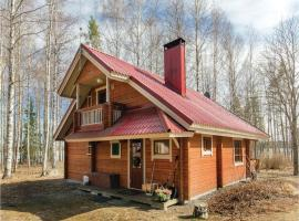 Holiday Home SF-19430 Pertunmaa with Fireplace 10, Koirakivi (рядом с городом Karankamäki)