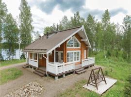 One-Bedroom Holiday Home in Kotalahti, Kotalahti (рядом с городом Jäppilä)