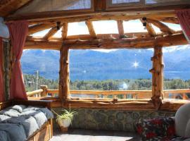 La Soñada - Casa de montaña, Villa Traful (La Lipela yakınında)