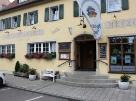 Gasthof-Hotel Arnold, Gunzenhausen (Gnotzheim yakınında)
