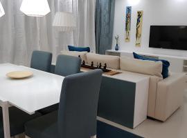 Elegant Modern Blue Apartment