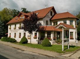 Landhotel am Fuchsbach, Berga (Posterstein yakınında)