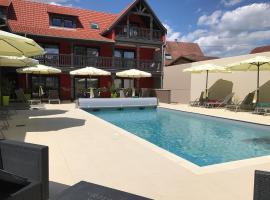 Au Soleil, Hôtel Restaurant & Spa, Valff