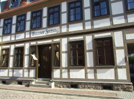 "Hotel garni ""Alte Warener Zeitung"""