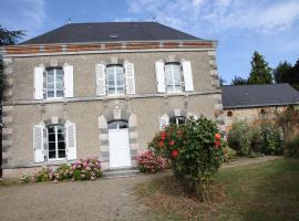Maison St Mayeul, Bouère (рядом с городом La Cropte)