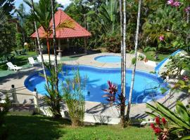 Natuga EcoLodge-Villas Dominical Baru, Dominical (Platanillo yakınında)