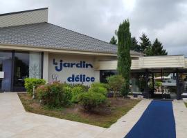 Hotel Restaurant Le Jardin Délice, Сен-Виктор