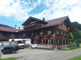 Ferienwohnung Tiefenbacher Hof, Oberstdorf (Lochwiesen yakınında)
