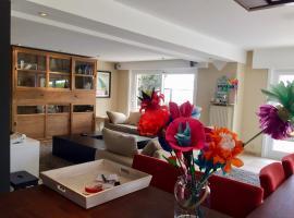 Grand appartement avec terrasse, Bierges