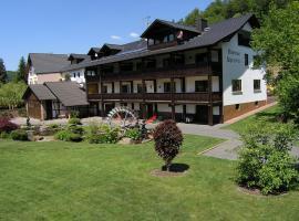Pension an der Kahlquelle, Kleinkahl (Flörsbachtal yakınında)