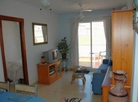 One-bedroom flat 200m from the beach