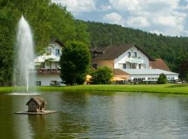 Hotel Pappelhof, Weidenbach (Salm yakınında)