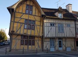 Appartement historique à Troyes