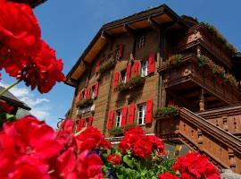Hotel Walliserkanne, Грахен