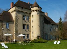 Château de la Chassagne, Saint-Hilaire-le-Château (рядом с городом Thauron)