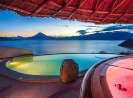 Tzampoc Resort, Санта-Катарина-Палопо (рядом с городом Текпан-Гуатемала)