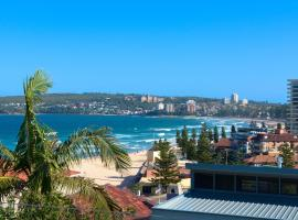 Queenscliff beach apartment