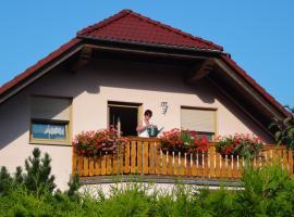 Ferienwohnung schöne Aussicht, Bischofswerda (Putzkau yakınında)