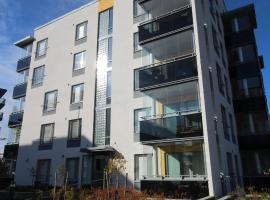 Cozy and bright one-bedroom apartment in Matinkylä, Espoo (ID 8413), Эспоо (рядом с городом Haukilahti)