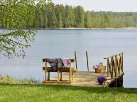 Holiday Home Hämeenhelmi, pätiälän kartanon loma-asun, Pätiälä (рядом с городом Iso Äiniö)
