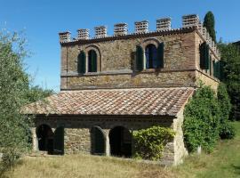 villa montalcino, Siena (Vergelle yakınında)