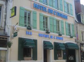 Logis de L'Europe Restaurant Le Cepage, Corbigny (рядом с городом La Collancelle)