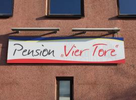 Pension ,,Vier Tore'', Neubrandenburg