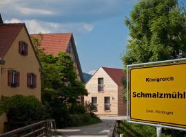 Erlebnis-Käse-Wohlfühl-Hof, Röckingen (Dennenlohe yakınında)