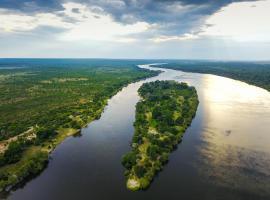 Chundu Island, Victoria Falls (Near Kazungula Administrative District)