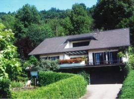 Ferienwohnung Erika Beierlein, Amorbach (Weilbach yakınında)