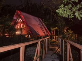 Fern Cabin, Roseau (Stowe yakınında)