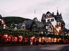 Hotel Krone Assmannshausen, Rüdesheim am Rhein (Trechtingshausen yakınında)