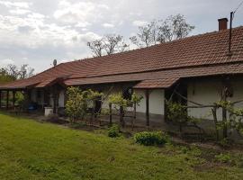 Renoviertes Bauernhaus, Tiszanána