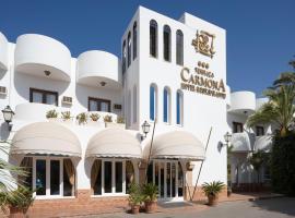Hotel Terraza Carmona, Vera (Cuevas del Almanzora yakınında)