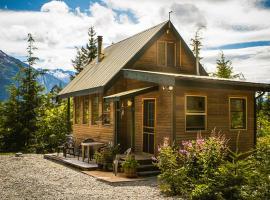 John's Perch Mountain Cabin, Hagensborg (Bella Coola yakınında)