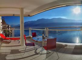 Residenz Acapulco App 4044, Moscia (Ronco sopra Ascona yakınında)