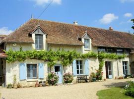 Gîte et chambres d'hôtes Le Chêne Billault, Pouant (рядом с городом Faye-la-Vineuse)